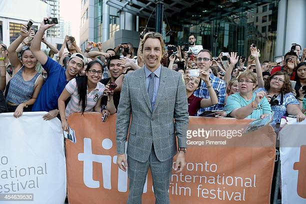 Actor Dax Shepard attends The Judge premiere during the 2014 Toronto International Film Festival at Roy Thomson Hall on September 4 2014 in Toronto...