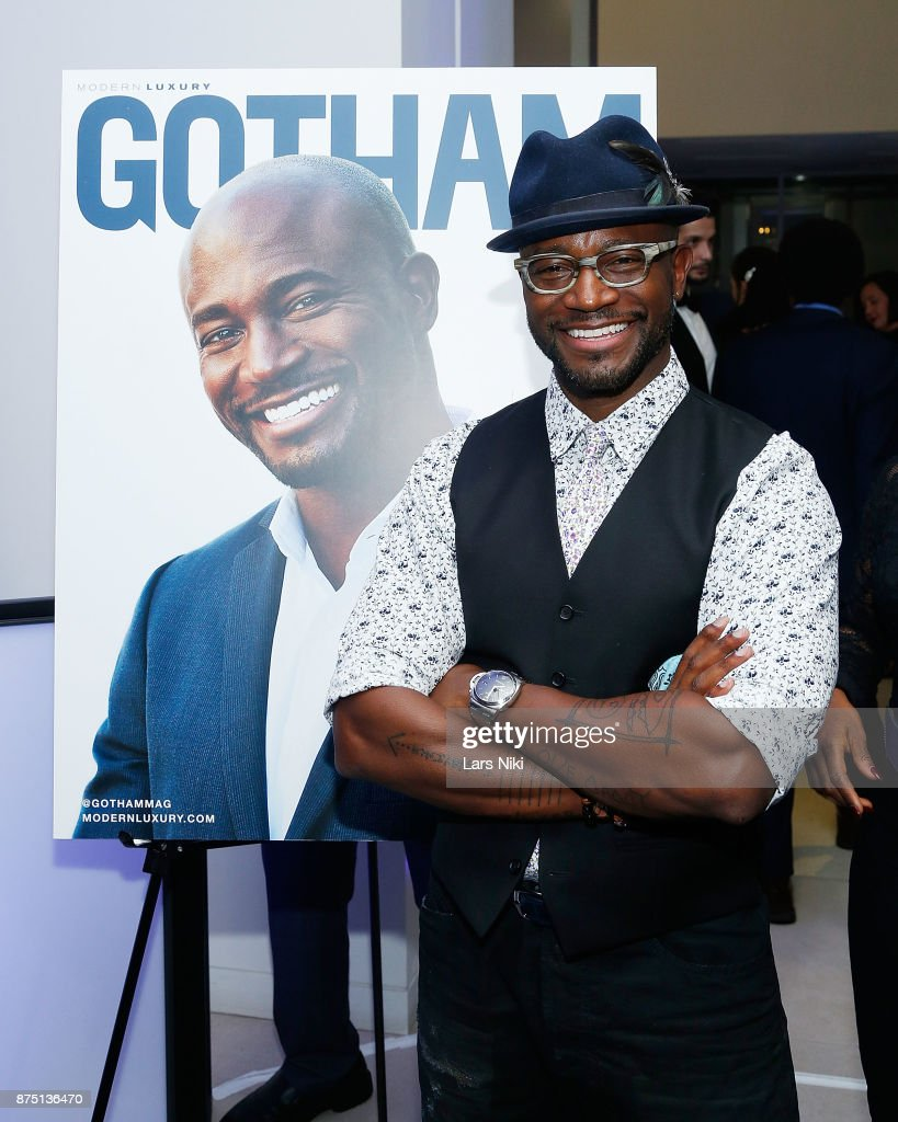 Actor Daye Diggs attends the Gotham Men's Issue Celebration at the BMW of Manhattan Showroom on November 16, 2017 in New York City.