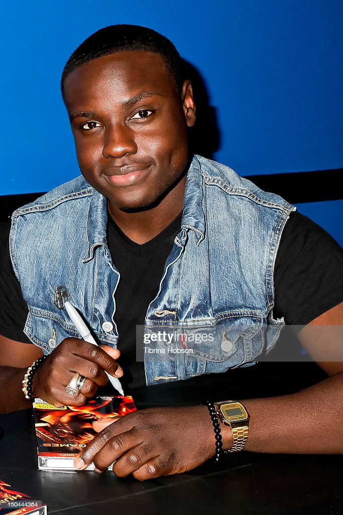 Actor Dayo Okeniyi attends Lionsgate's 'The Hunger Games' blu-ray disc and DVD release and fan signing at Walmart on August 17, 2012 in Santa Clarita, California.