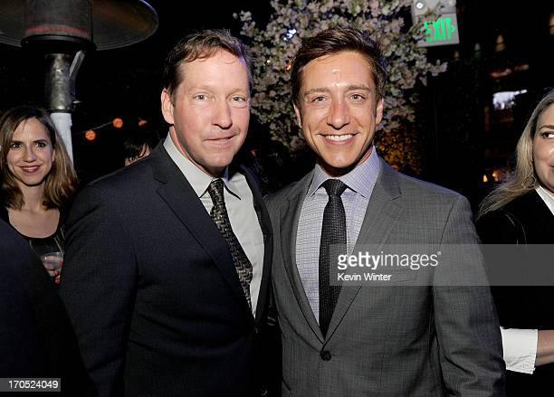 Actor DB Sweeney and Film Independent copresident Sean McManus attend the premiere of Sony Pictures Classics I'm So Excited after party during the...
