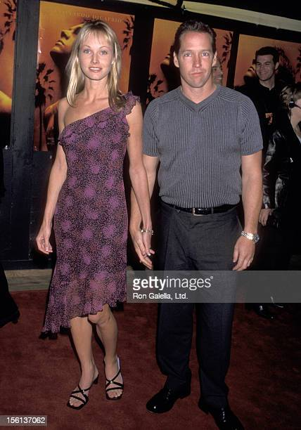 Actor DB Sweeney and wife Ashley Vachon attend 'The Beach' Hollywood Premiere on February 2 2000 at Mann's Chinese Theatre in Hollywood California