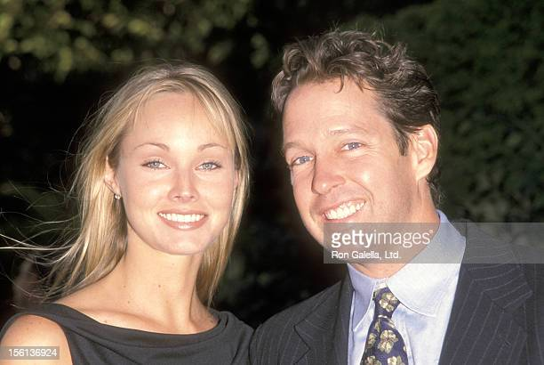 Actor DB Sweeney and wife Ashley Vachon attend the FOX Television Up Front Celebration on May 20 1999 at Lincoln Center in New York City New York