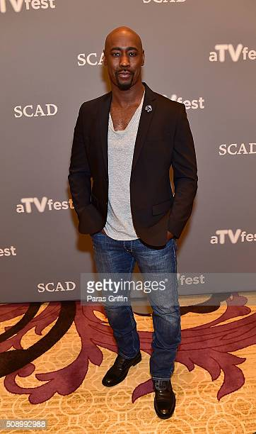 Actor DB Woodside attends 'Lucifer' event during aTVfest 2016 presented by SCAD on February 7 2016 in Atlanta Georgia