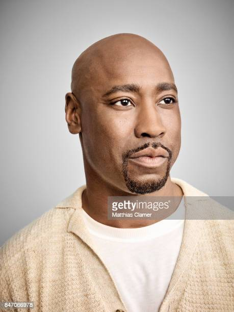 Actor DB Woodside from 'Lucifer' is photographed for Entertainment Weekly Magazine on July 23 2016 at Comic Con in the Hard Rock Hotel in San Diego...