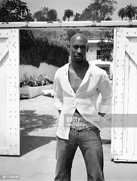 Actor DB Woodside is photographed in Santa Monica CA in 2007