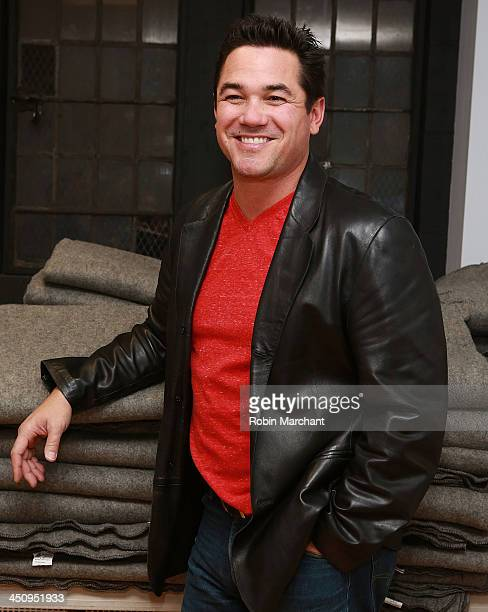 Actor Dean Cain attends the 'Defending Santa' photo call benefiting National Coalition of the Homeless at St Bartholomew's Church on November 20 2013...