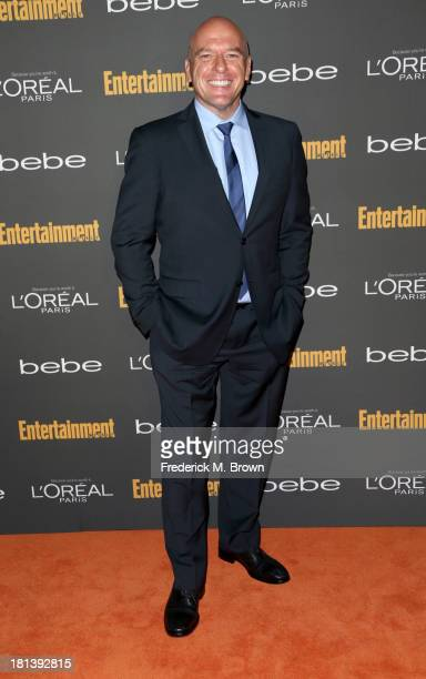 Actor Dean Norris arrives at Entertainment Weekly's Pre-Emmy Party at Fig & Olive Melrose Place on September 20, 2013 in West Hollywood, California.