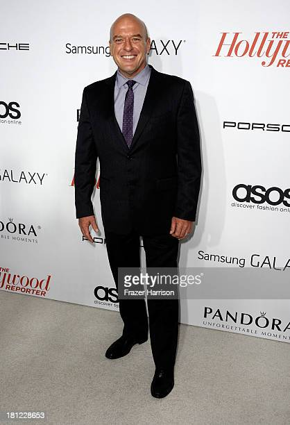 Actor Dean Norris arrives at The Hollywood Reporter's Emmy Party at Soho House on September 19, 2013 in West Hollywood, California.