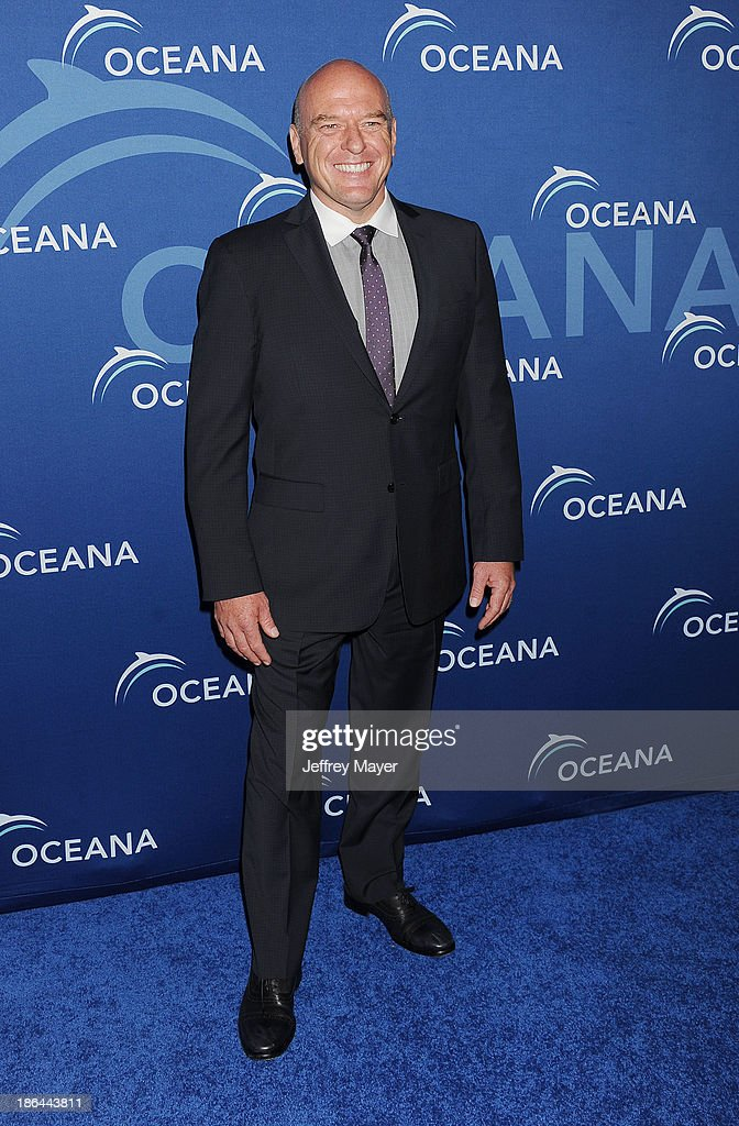 Actor Dean Norris arrives at the Oceana Partners Award Gala With Former Secretary Of State Hillary Rodham Clinton and HBO CEO Richard Plepler at Regent Beverly Wilshire Hotel on October 30, 2013 in Beverly Hills, California.