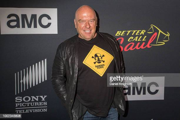 """Actor Dean Norris attends AMC's """"Better Call Saul"""" Season 4 Premiere at UA Horton Plaza 8 on July 19, 2018 in San Diego, California."""