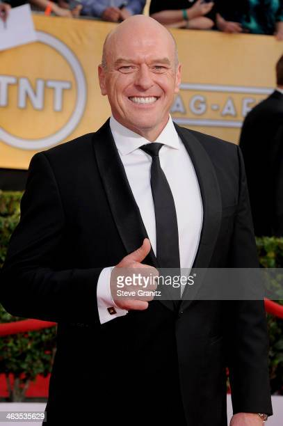 Actor Dean Norris attends the 20th Annual Screen Actors Guild Awards at The Shrine Auditorium on January 18, 2014 in Los Angeles, California.