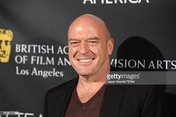 Actor Dean Norris attends the BAFTA LA TV Tea 2013 presented by BBC America and Audi held at the SLS Hotel on September 21, 2013 in Beverly Hills,...