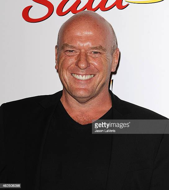"""Actor Dean Norris attends the premiere of """"Better Call Saul"""" at Regal Cinemas L.A. Live on January 29, 2015 in Los Angeles, California."""