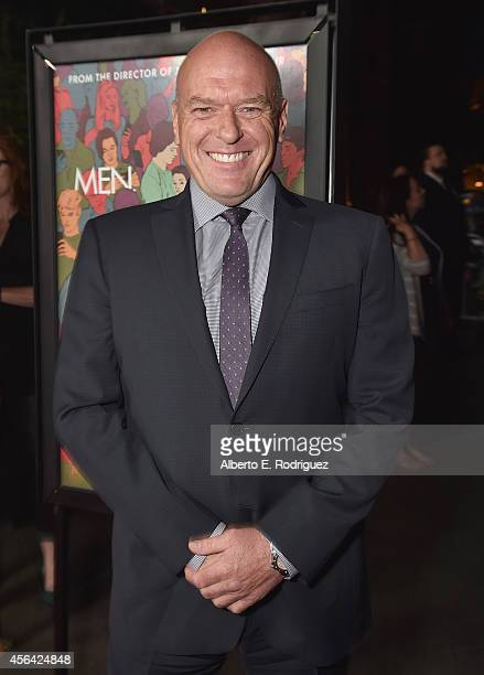 """Actor Dean Norris attends the premiere of Paramount Pictures' """"Men, Women & Children"""" at Directors Guild of America on September 30, 2014 in Los..."""