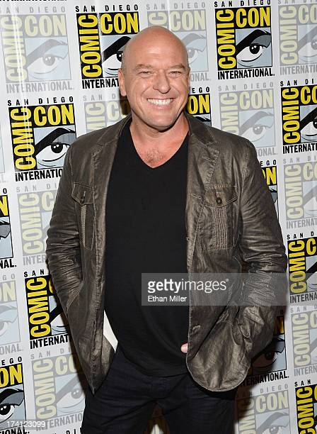 """Actor Dean Norris attends the """"Under the Dome"""" press line during Comic-Con International 2013 at the Hilton Bayfront on July 20, 2013 in San Diego,..."""