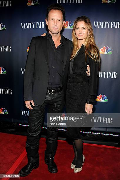 Actor Dean Winters and Danielle Farrell attend NBC's 2013 Fall Launch Party Hosted By Vanity Fair at The Standard Hotel on September 16 2013 in New...