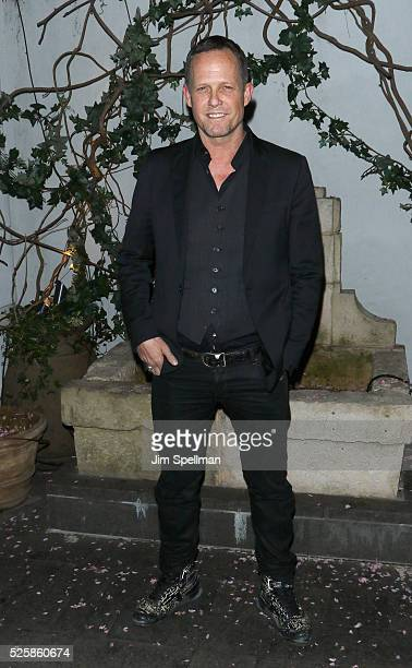 Actor Dean Winters attends the after party for the screening of Open Road Films' Mother's Day hosted by The Cinema Society with Lands' End at Laduree...