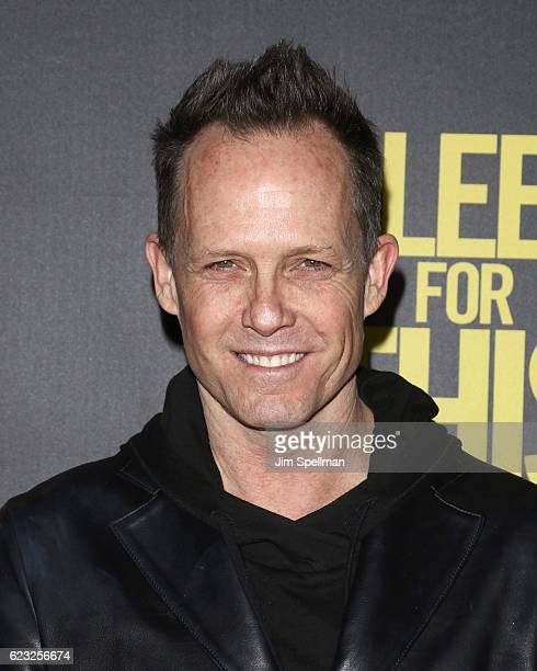 Actor Dean Winters attends the premiere of 'Bleed For This' hosted by Open Road with Men's Fitness at AMC Lincoln Square Theater on November 14 2016...