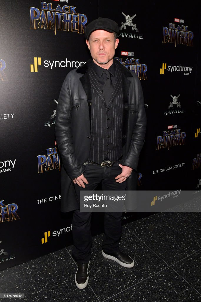 Actor Dean Winters attends the screening of Marvel Studios' 'Black Panther' hosted by The Cinema Society on February 13, 2018 in New York City.