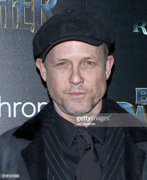 Actor Dean Winters attends the screening of Marvel Studios' 'Black Panther' hosted by The Cinema Society with Ravage Wines and Synchrony at Museum of...