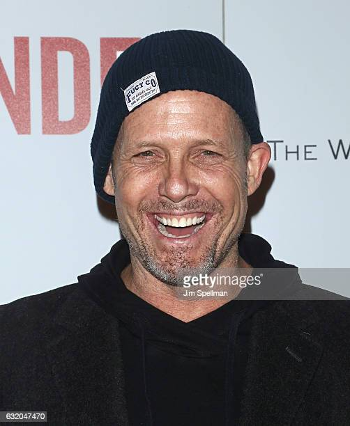Actor Dean Winters attends the screening of 'The Founder' hosted by The Weinstein Company with Grey Goose at The Roxy on January 18 2017 in New York...