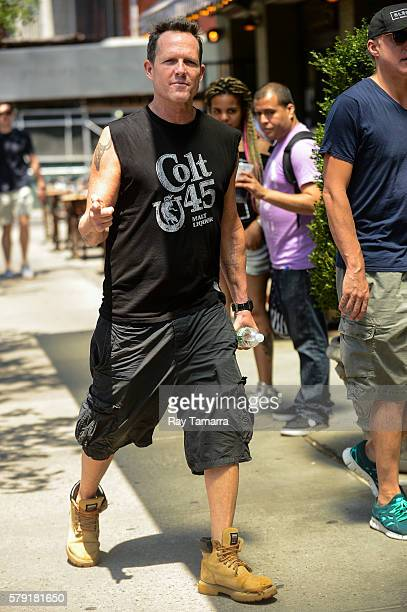 Actor Dean Winters enters a Noho hotel on July 22 2016 in New York City