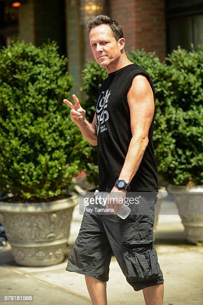 Actor Dean Winters leaves a Noho hotel on July 22 2016 in New York City