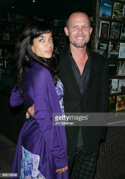 Actor Dean Winters with guest attends the Cinema Society and Lancome screening of Rachel Getting Married at the Landmark Sunshine Theater on...