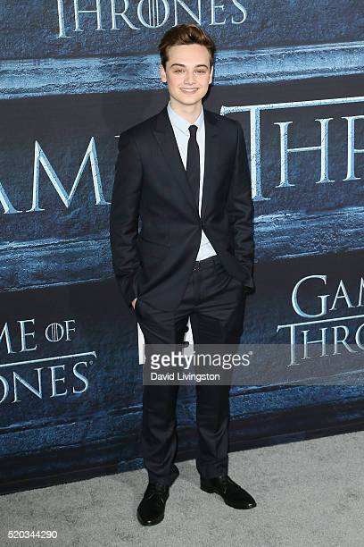 Actor DeanCharles Chapman arrives at the premiere of HBO's Game of Thrones Season 6 at the TCL Chinese Theatre on April 10 2016 in Hollywood...