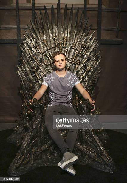 Actor DeanCharles Chapman attends HBO's Game of Thrones Season 6 behind the scenes fan event at Hollywood Highland on December 9 2016 in Hollywood...