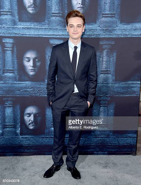 Actor DeanCharles Chapman attends the premiere of HBO's 'Game Of Thrones' Season 6 at TCL Chinese Theatre on April 10 2016 in Hollywood California
