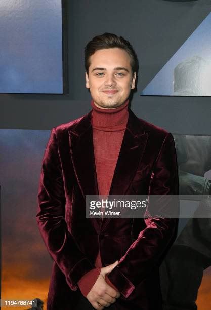 Actor DeanCharles Chapman attends the premiere of Universal Pictures' 1917 at TCL Chinese Theatre on December 18 2019 in Hollywood California