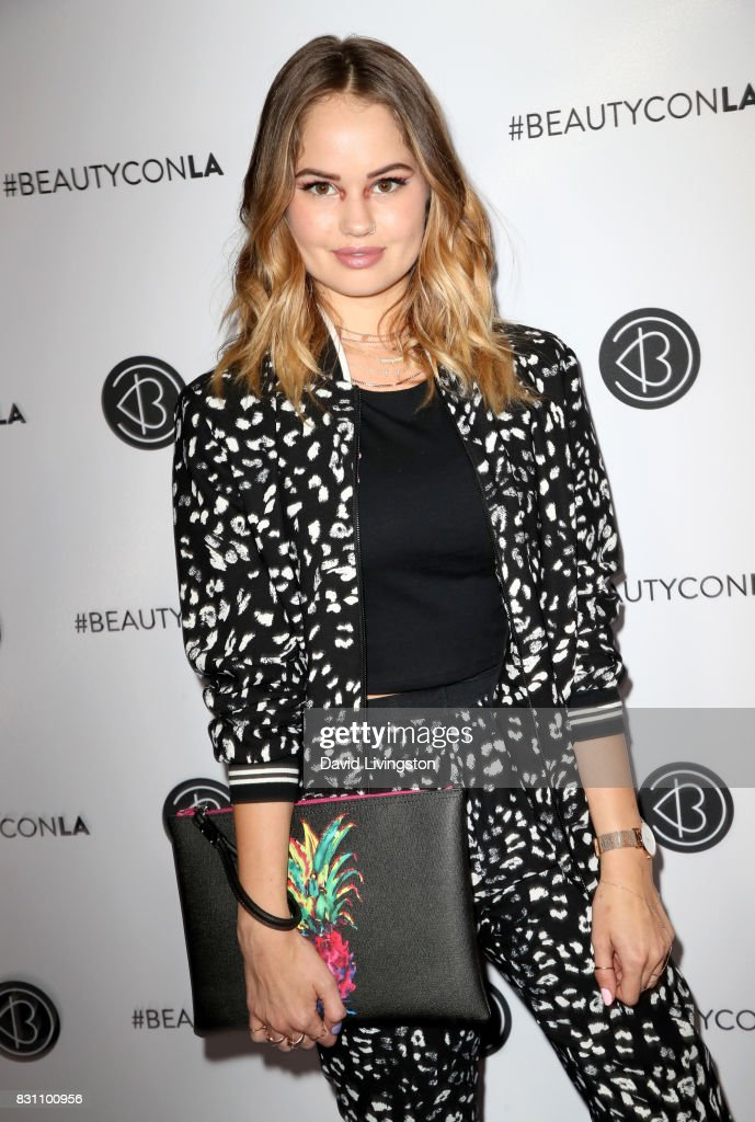 Actor Debby Ryan attends Day 2 of the 5th Annual Beautycon Festival Los Angeles at the at Los Angeles Convention Center on August 13, 2017 in Los Angeles, California.