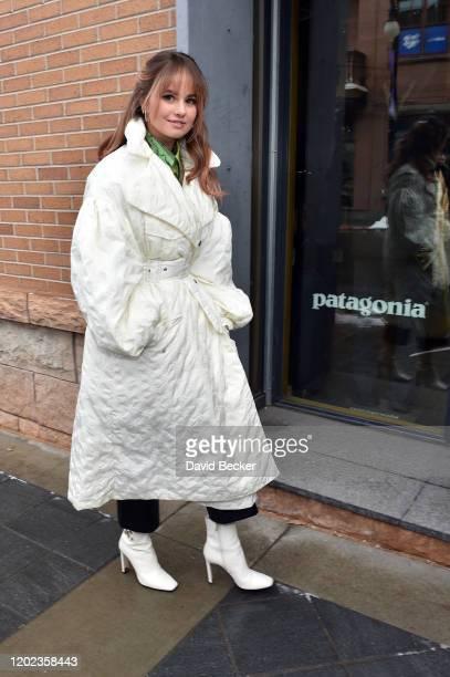 Actor Debby Ryan attends the 2020 Sundance Film Festival on January 27 2020 in Park City Utah