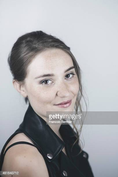 Actor Deborah Francois is photographed in Caen France