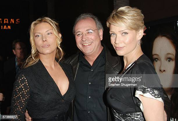"""Actor Deborah Kara Unger, producer Samuel Hadida and actor Laurie Holden attend the premiere of TriStar Pictures' """"Silent Hill"""" at the Egyptian..."""