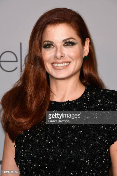 Actor Debra Messing attends the 19th Annual PostGolden Globes Party hosted by Warner Bros Pictures and InStyle at The Beverly Hilton Hotel on January...