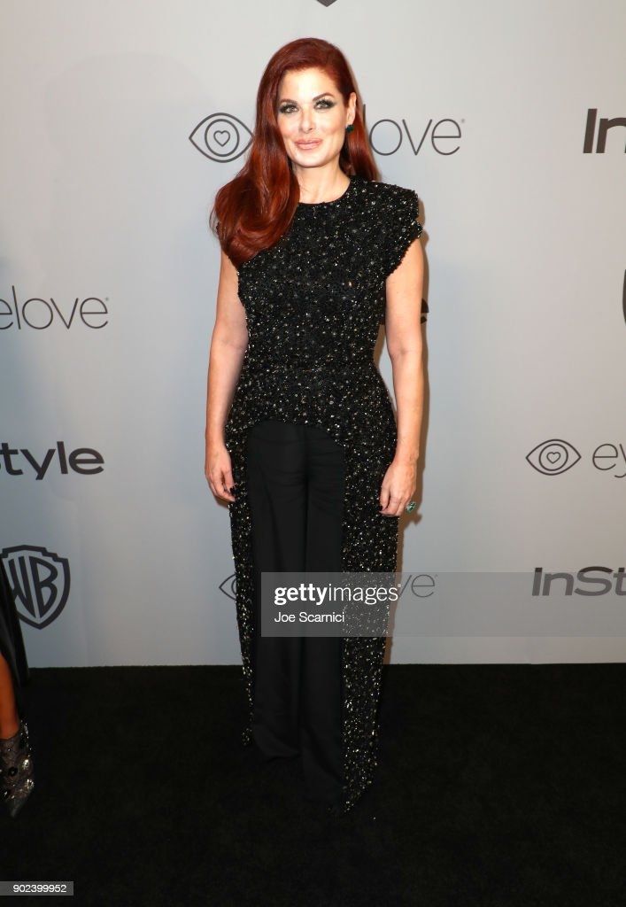 Actor Debra Messing attends the 2018 InStyle and Warner Bros. 75th Annual Golden Globe Awards Post-Party at The Beverly Hilton Hotel on January 7, 2018 in Beverly Hills, California.