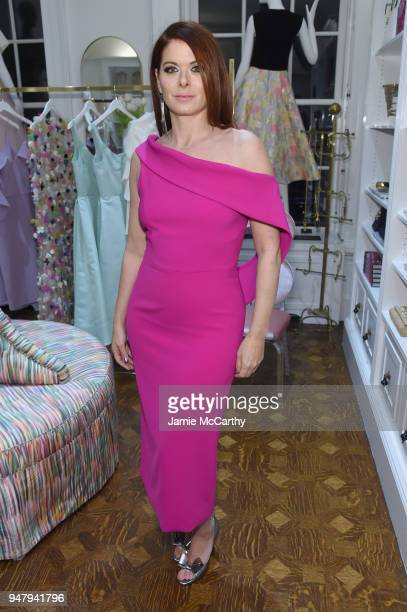 Actor Debra Messing attends the Opening Of Christian Siriano's New Store The Curated NYC Hosted By Alicia Silverstone on April 17 2018 in New York...