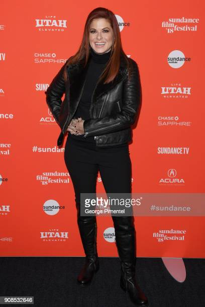 Actor Debra Messing attends the 'Search' Premiere during the 2018 Sundance Film Festival at The Ray on January 21 2018 in Park City Utah