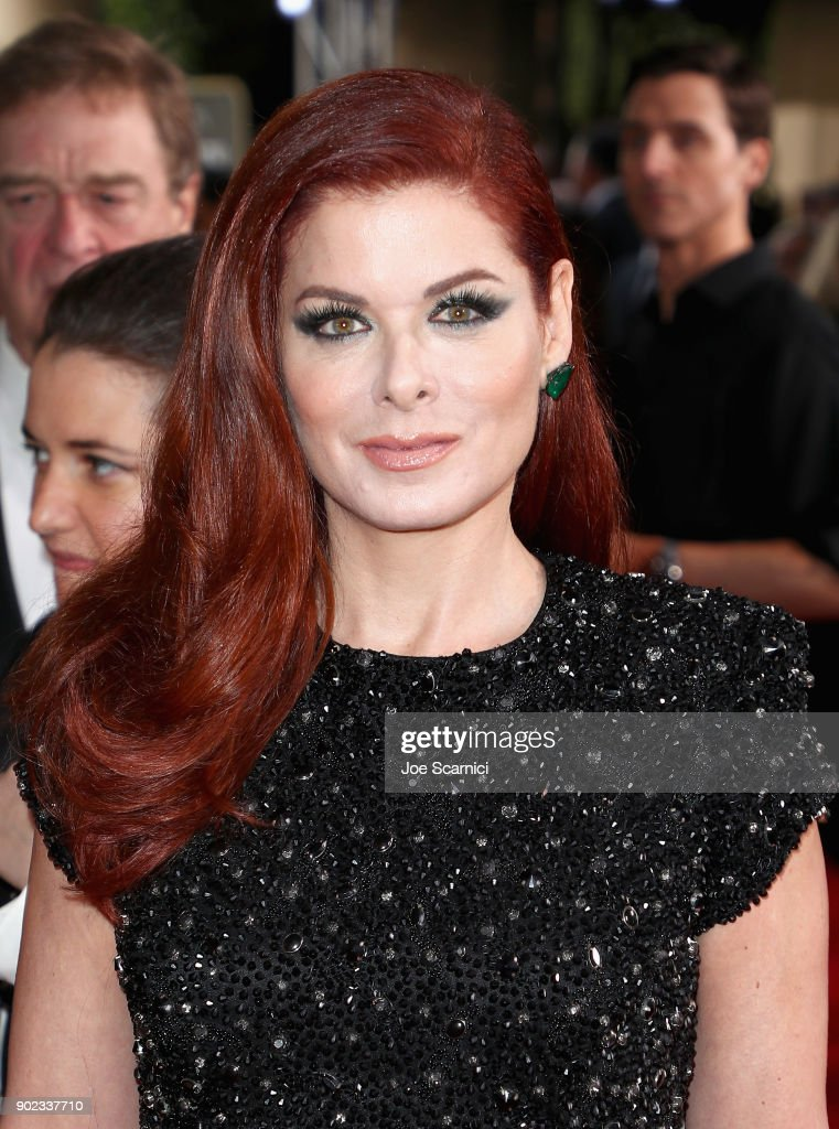 Moet & Chandon At The 75th Annual Golden Globe Awards - Red Carpet : News Photo