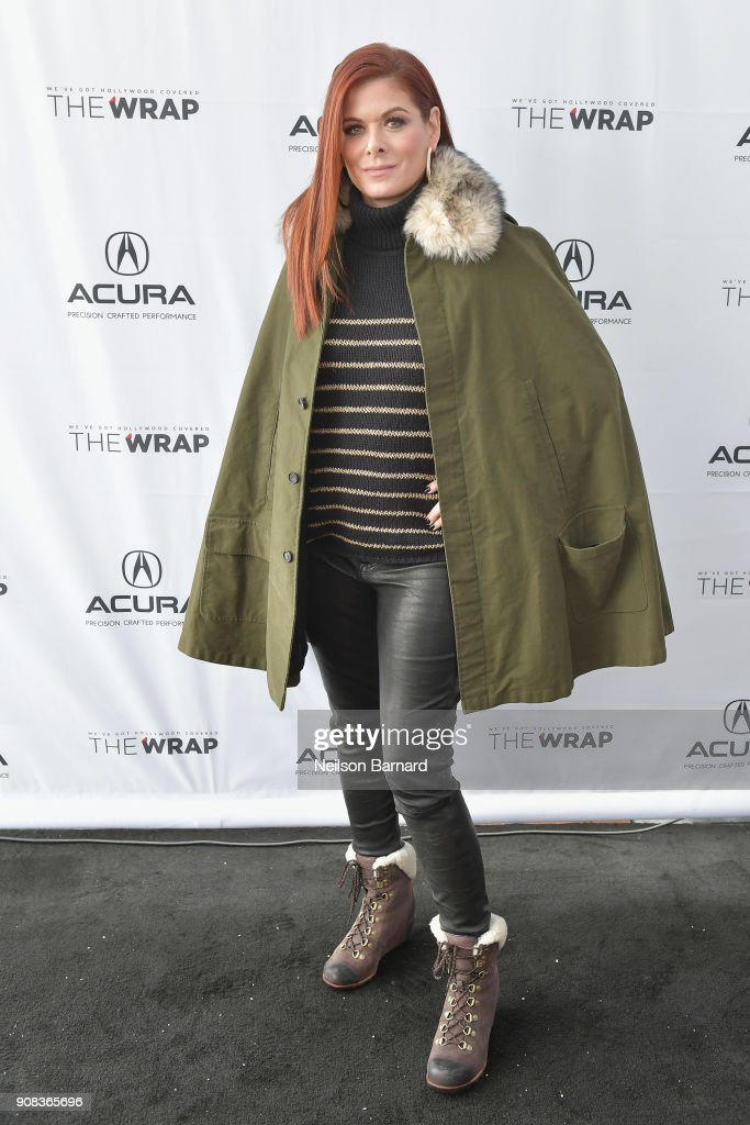 Actor Debra Messing of 'Search' attends the Acura Studio at Sundance Film Festival 2018 on January 21, 2018 in Park City, Utah.