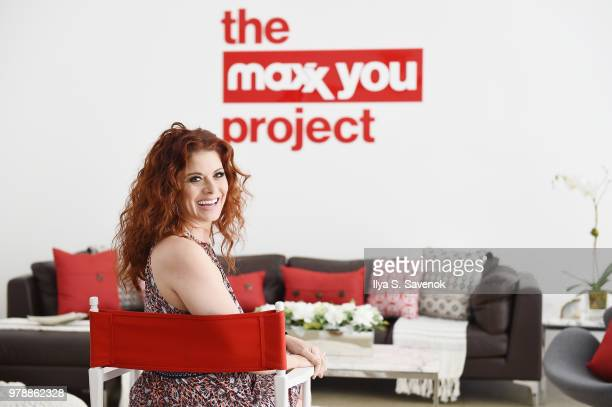 Actor Debra Messing teamed up with TJMaxx to launch The Maxx You Project creating a community that encourages women to embrace their individuality...