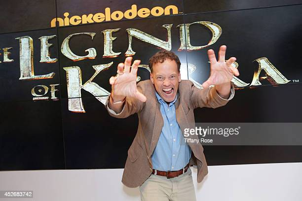 Actor Dee Bradley Baker attends the Legend of Korra signing at the 2014 San Diego ComicCon International Day 3 on July 25 2014 in San Diego California