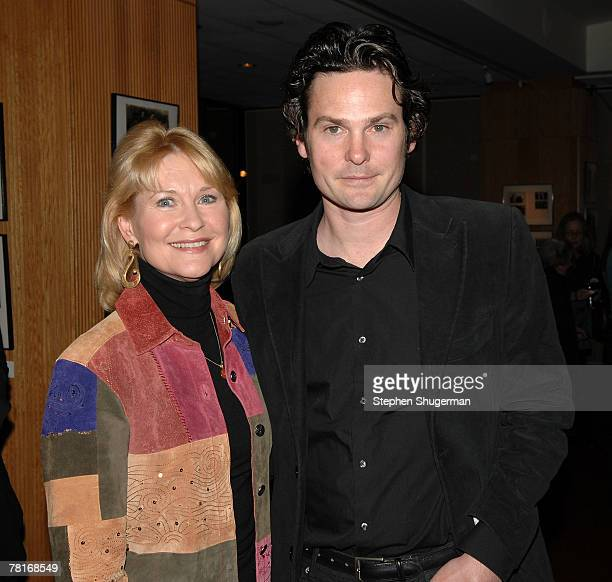 Actor Dee Wallace and actor Henry Thomas attend the Academy of Motion Picture Arts and Sciences screening of ET The ExtraTerrestrial at the Samuel...