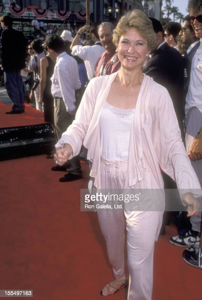 Actor Dee Wallace attends the Grand Opening of the New Universal Studios Florida Theme Park Attractions on June 7, 1990 at Universal Studios Florida...