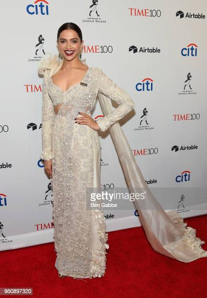 Actor Deepika Padukone attends the 2018 Time 100 Gala at Jazz at Lincoln Center on April 24 2018 in New York City