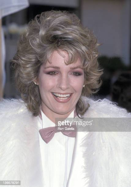 Actor Deidre Hall attends the NBC Television Affiliates Party on May 12 1985 at Century Plaza Hotel in Los Angeles California