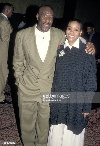 Actor Delroy Lindo and wife Neshormeh Lindo attend the Crooklyn New York City Premiere on May 9 1994 at Loews Astor Plaza in New York City