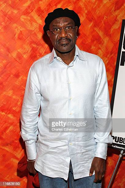"""Actor Delroy Lindo attends the opening night of The Public Theater's """"The Brother/Sister Plays"""" at Colors on November 15, 2009 in New York City"""